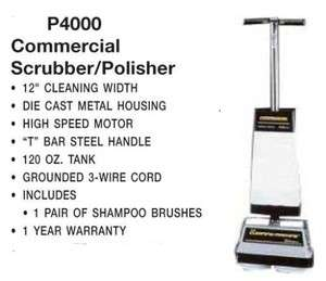 Commercial Floor Tile Grout Scrubber Buffer Cleaner Polisher Carpet