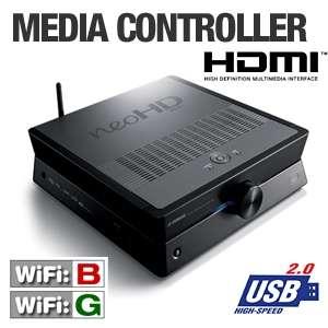 Yamaha YMC 700BL NeoHD Media Controller   WiFi 802.11b/g, Ethernet