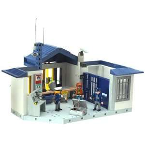 Playmobil   Police Station 3165: .co.uk: Toys & Games