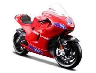 Stoner No 27 MotoGP 2010) Diecast Model Motorbike (by Maisto 31185