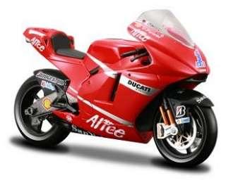Casey Stoner No 1 MotoGP 2008) Diecast Model Motorbike by Maisto 39166