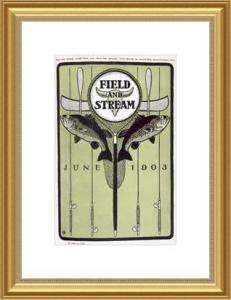 FIELD & STREAM: June 1903 Field and Stream Cover by W. E. Spader