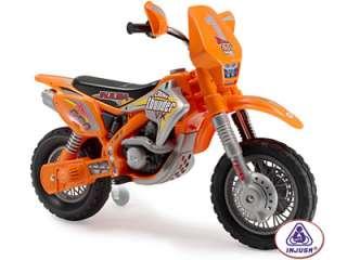 12v Thunder Max Injusa Electric Kid Ride Toy Dirt Bike |