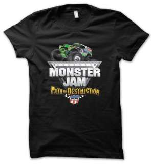 MONSTER JAM Grave Digger Truck Game Mens T Shirt Black S, M, L, XL