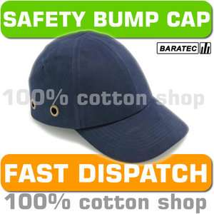 Vented Work Wear Hard Hat Helmet Navy Blue PPE 5019200081745