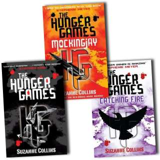 The Hunger games Catching Fire Mockingjay Books Collection Suzanne