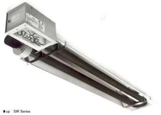 Sunstar 45K Natural Gas Radiant Infrared Tube Garage Heater