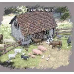 1/72 Farm Animals Toys & Games