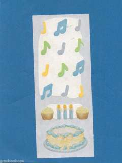 Creative Memories Scrapbooking Baby BOY BIRTHDAY CAKE