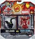 bakugan battle brawlers marvel haos iron man vs darkus $ 22 78 5 % off