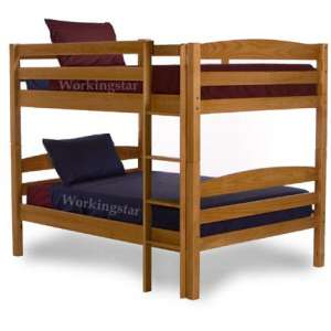 Bunk bed woodworking plan stackable twin extra long xl for Stackable bed plans