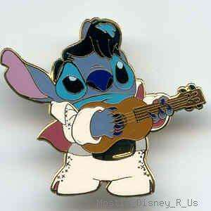Disneyland Lilo & Stitch Stitch as Elvis Pin New Wow