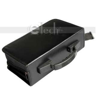 Black 200 Disc CD DVD Storage Bag Holder Wallet Case New