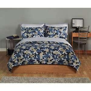 Complete Bedding Set Plus Bonus Towel, Blue Kids & Teen Rooms
