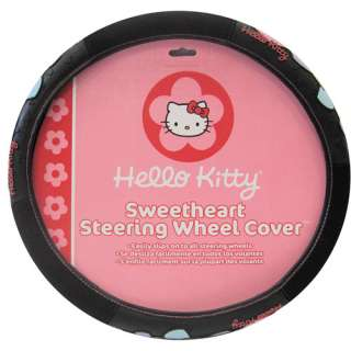 Plasticolor Hello Kitty Car Steering Wheel Cover