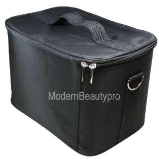 Box Bag Case MAKEUP COSMETIC NAIL ART TECHNICIAN TOOLS   Black