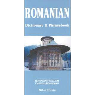 Romanian English Dictionary & Phrasebook, Miroiu, Mihai