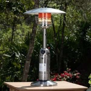 Fire Sense Stainless Steel Table Top Patio Heater Patio