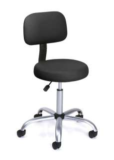New Black Doctor Dental Medical Exam Stool Office Chair