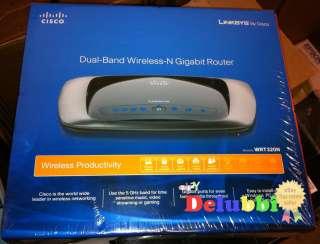 New Linksys WRT320N Dual Band Wireless N Gigabit Router