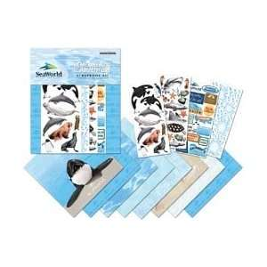 SeaWorld Page Kit 12X12 Arts, Crafts & Sewing
