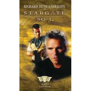 SG 1 [VHS] Richard Dean Anderson, Michael Shanks, Amanda Tapping