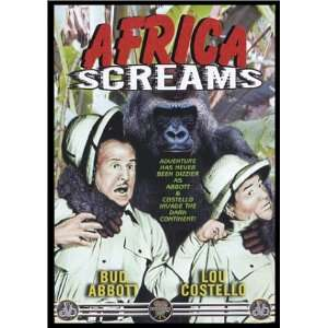 Africa Screams: Lou Costello, Bud Abbott, Charles Barton: Movies & TV