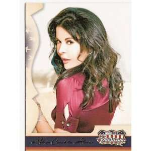 Maria Conchita Alonso 2007 Donruss Americana Trading Card
