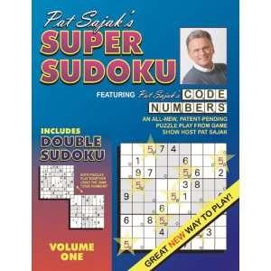 Pat Sajaks Super Sudoku Featuring Code Numbers: Pat Sajak: Books