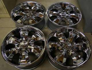 Factory Chevy Suburban Silverado Tahoe Avalanche Chrome 20 Wheels Rims