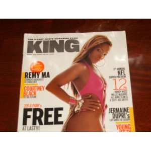 King Magazine September 2005: Remy Ma Straight Backshots