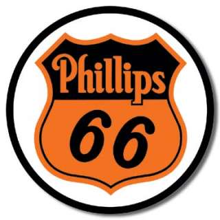 Phillips 66 Gas Service Station Garage Retro Tin Sign