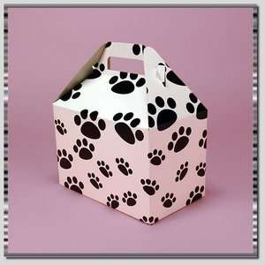 Paw Prints Dog Cat ~ Gift Wrapping Box So Cute