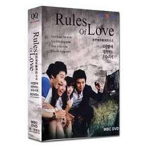 RULES OF LOVE KOREAN DRAMA 8 DVDs w/ENGLISH SUBTITLES Kim