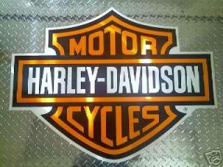 Pk Harley Davidson GIANT Cargo Trailer Decal 37x29