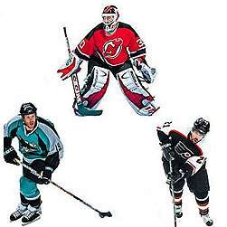 BiG 10 NHL Players WALL/Car Decals STICKERS ICE HOCKEY