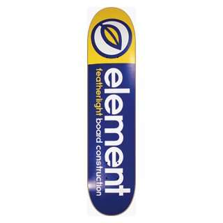 Element Skateboards Featherlite Deck 7.87 blu/yel