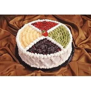 Kosher Gift Basket   Fruit Design Cake:  Grocery & Gourmet