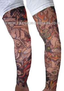 Metal Rocker AXL ROSE Guns N Roses WIG Pants Tattoo Costume