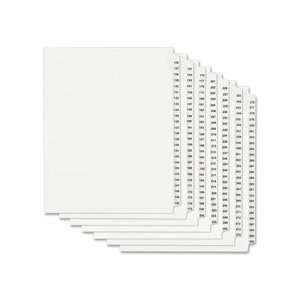 Avery Style Individ Legal Exhibit Number Dividers Office