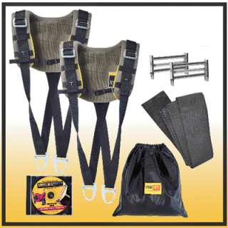 Pro Lift Shoulder Dolly Moving Strap Dual Harn 1Klb Cap