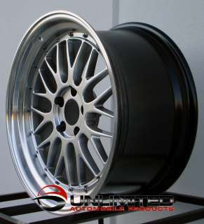 18 LM Staggered Wheels Rims Fit Honda S2000