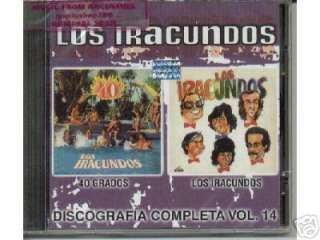 LOS IRACUNDOS, DISCOGRAFIA COMPLETA VOLUMEN 14 40 GRADOS + LOS
