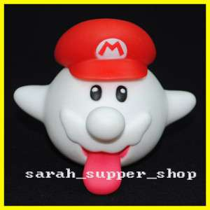 Super Mario Bros King Boo Ghost Doll Action Figures Toy