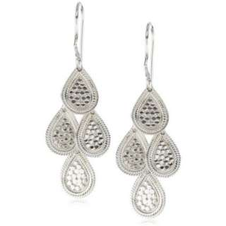 Anna Beck Designs Gili Mini Chandelier Sterling Silver Earrings
