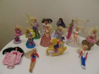 McDonalds 90s Barbie doll happy meal toys lot of 14 1991 1992 1995