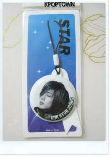Mirror Type Luxury Mobile Strap Of SS501 Kim Hyun Joong