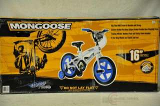 Mongoose ShowTime Boys Bike (16 Inch Wheels)
