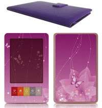 Barnes Noble Nook Synthetic Leather Case Cover Pink