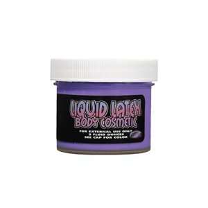 Liquid Latex Body Paint  Purple 2 oz
